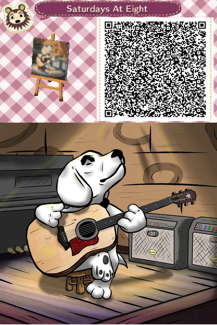 347 best animal crossing qr codes images on pinterest for Animal crossing mural