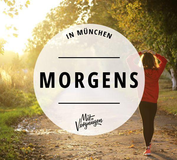 Morgens in München