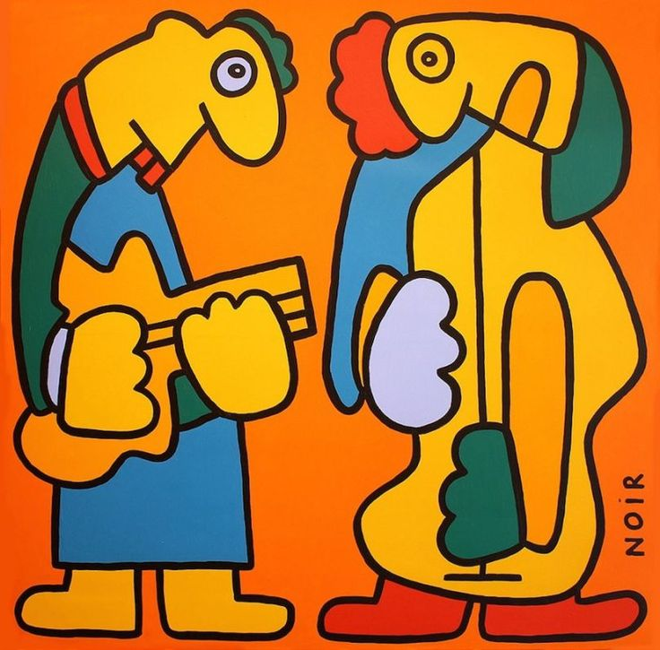'Jazz' by Thierry Noir.