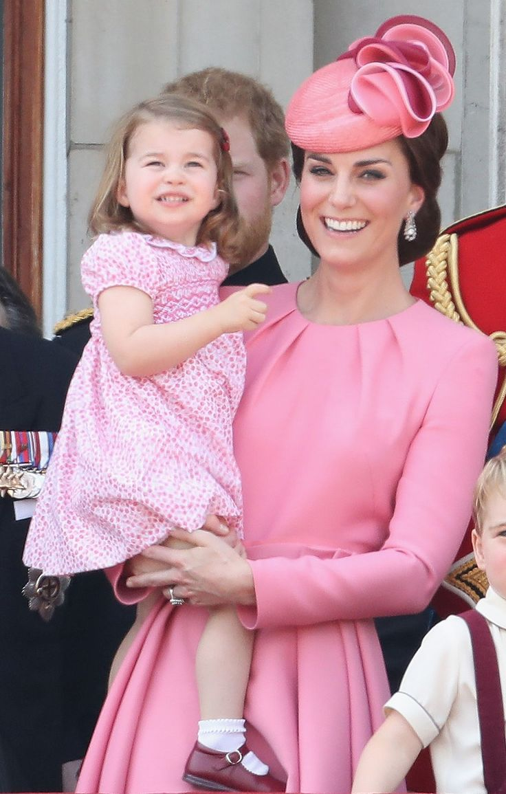 Kate Middleton & Princess Charlotte Are Totally Twinning at the Trooping the Colour Parade -- See the Pics!