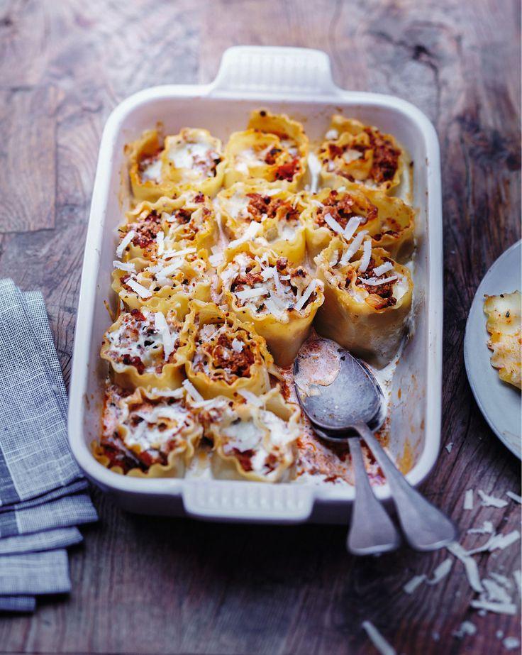 Recette lasagnes roulées : une recette originale de lasagnes que les enfants vont adorer !