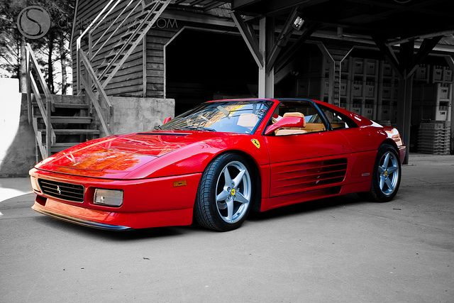 Ferrari 348 TS: What I consider the best looking car of all time.
