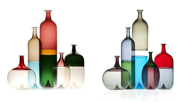 Image result for venini glass coloured vases bolle