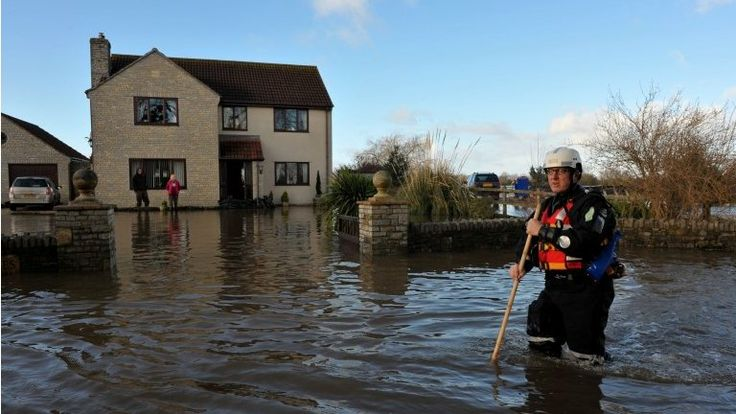 Met Office: Evidence 'suggests climate change link to storms'