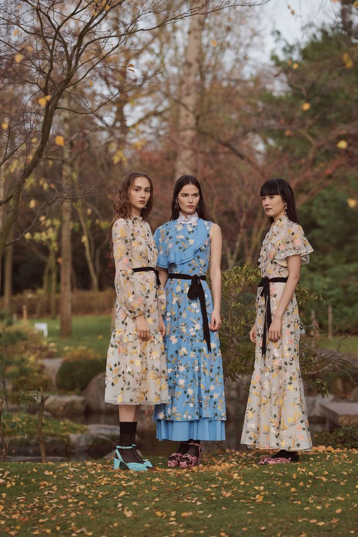 Erdem Pre-Fall 2018 Fashion Show gamis fashion