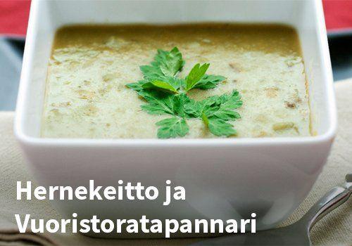 Hernekeitto ja Vuoristoratapannari #kauppahalli24 #ruoka #resepti #hernekeitto