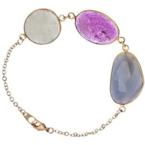Multi Color Sapphire Stone Bracelet by BestFashion2016