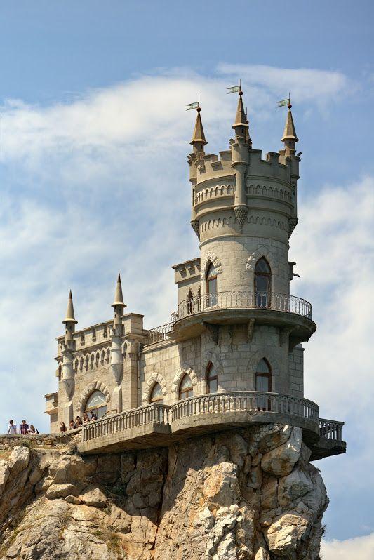 Swallow's Nest castle near Yalta, Crimea, Ukraine. | I've ...
