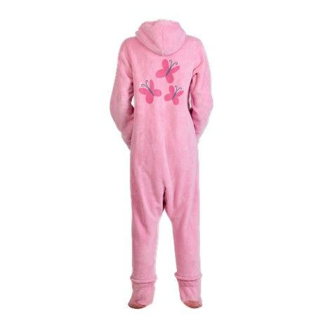 Fluttershy Cutie Mark Footed Pajamas