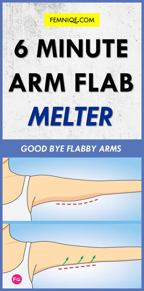 Arm Flab Workout: 6 Minutes Workout To Get Rid Of Flabby Arms! - Tired of having excess fat under your arms? Start doing this workout. This is one of the best flabby arm workout (bat wings) for women