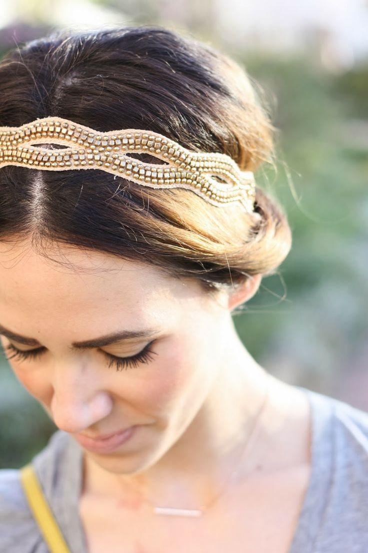 Studded hair accessory