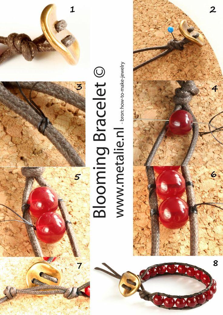 Como hacer una Pulsera de Perlas con Cuero Chan Luu #bracelets #diy #crafts