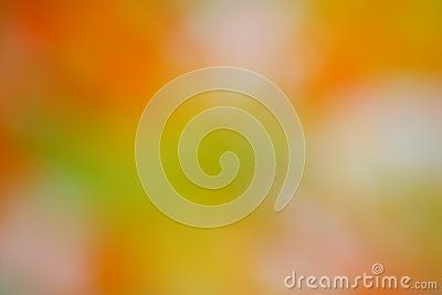 Autumn / Fall Background - Abstract Blur