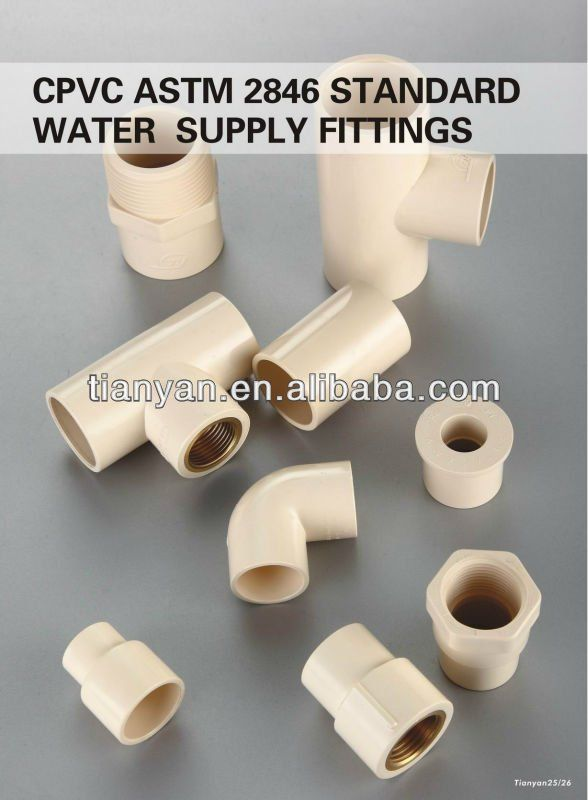 CPVC PIPE FITTINGS $1.045~$3.654