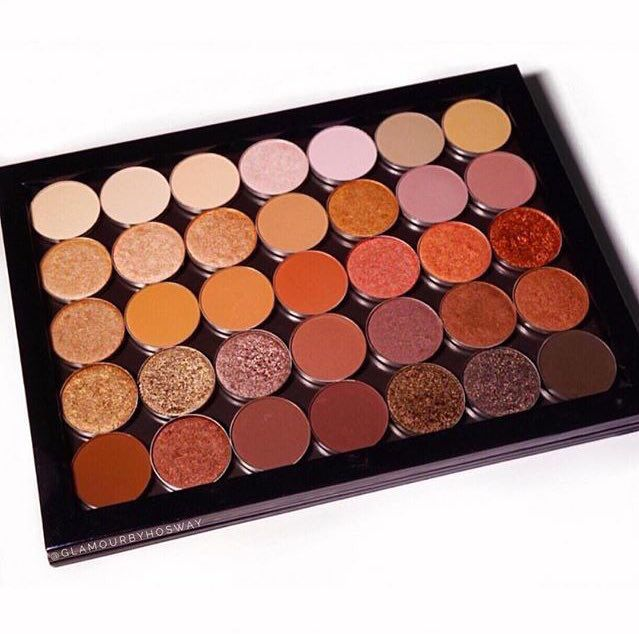 Perfection! Extra Z Palette completed by @glamourbyhosway