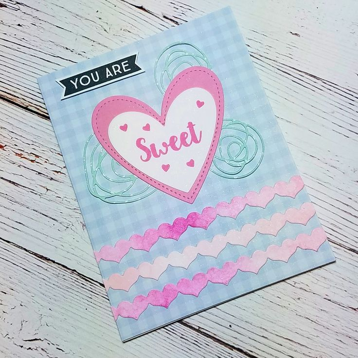 Corilyn's Creations: You are sweet #mftstamps #lawnfawn #mamaelephant #ssswchallenge