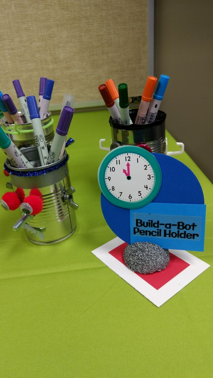 Time Lab VBS Day 5 Craft Idea Build A Bot