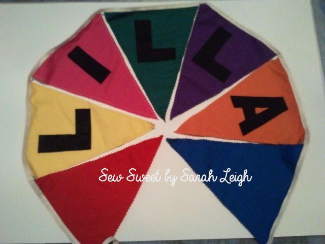 'Lilla' in rainbow colours