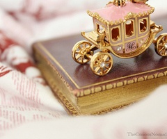 fairy tale: Books, Princess, Carriage, Pretty Things, Fairy Tales, Pink, Disney, Fairytales, Cinderella