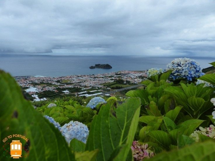 Visit Sao Miguel and make sure you go to the beautiful village of Vila Franca do Campo.