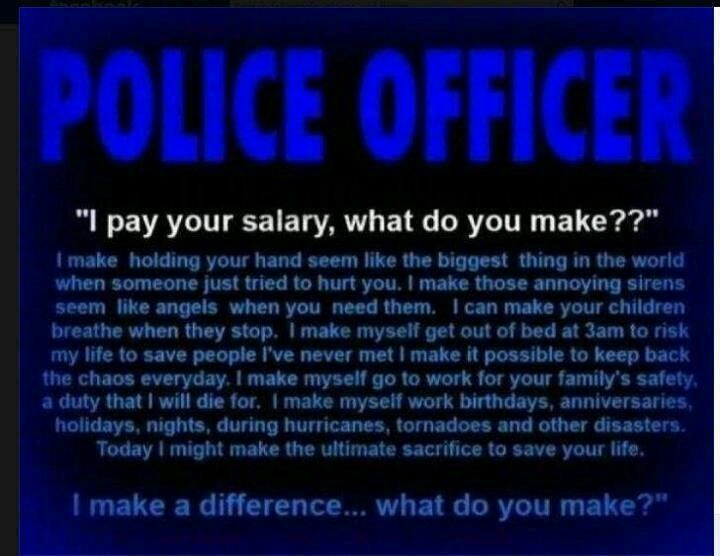 How much do cops make?