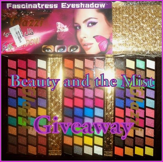 Beauty and the Mist - everything about beauty: Pre-Christmas Giveaway with 120 eyeshadow palette