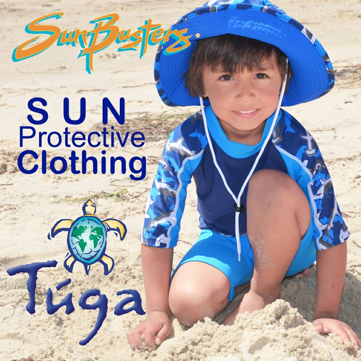 Maximize your #sunprotection with stylish 50+ #UV sun protective #clothing by #TugaSunwear  #Sunbusters for #Kids!