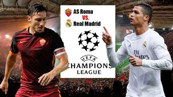 Roma - Real Madrid: Cómo ver online y en directo el partido de Champions por Internet