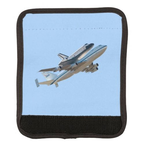 Space shuttle Endeavour luggage handle wraps