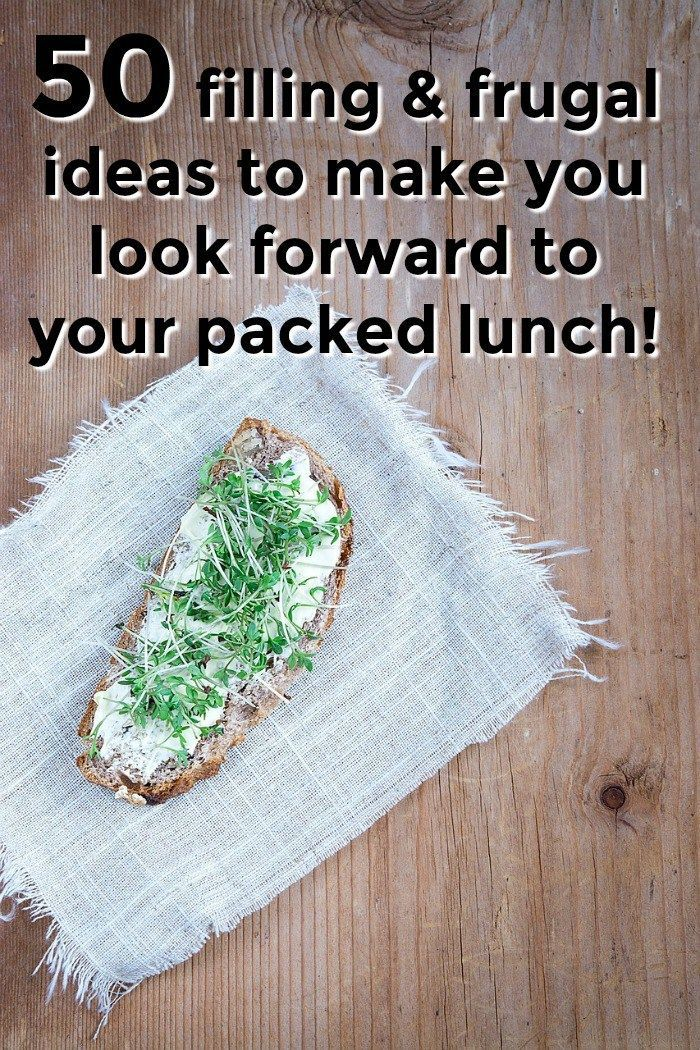 50 filling & frugal packed lunch ideas to make you look forward to your packed lunch!