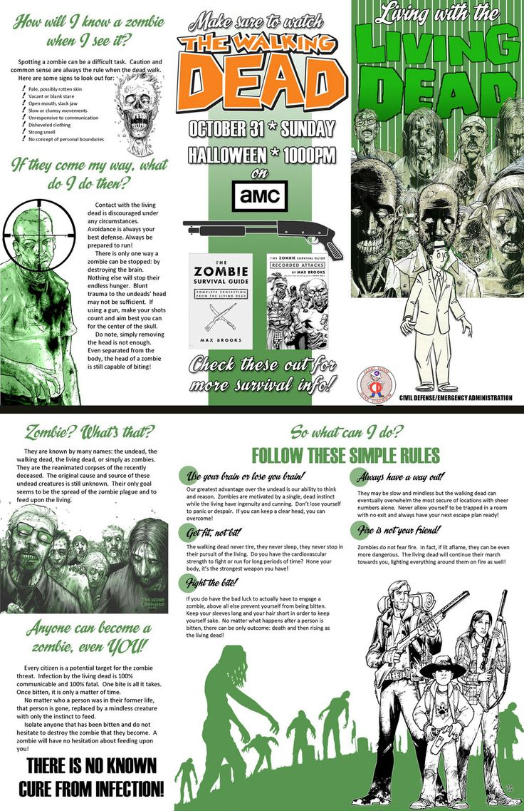 ideas for a zombie party - Halloween Party Rules