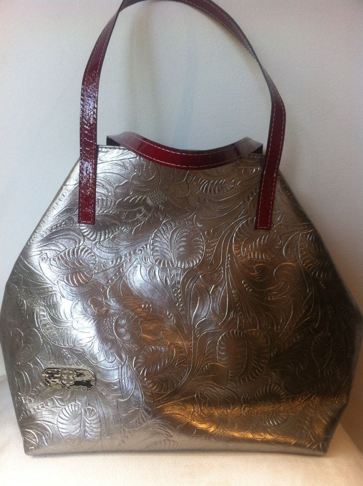#IsabellaLatouche New Collection #metallic #silver and #red #leather
