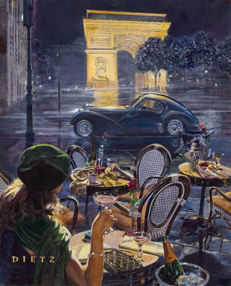 36 best Automobile Art images on Pinterest | Automobile, Autos and Cars