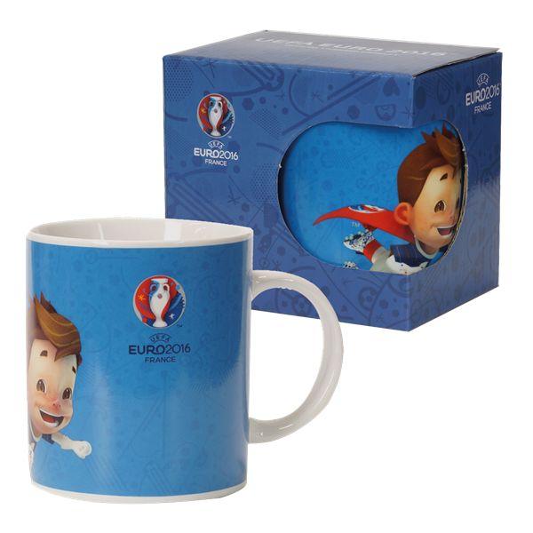 Euro 2016 Mascot Ceramic Mug