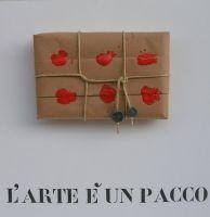 L' ARTE E' UN PACCO- Sergio Vanni