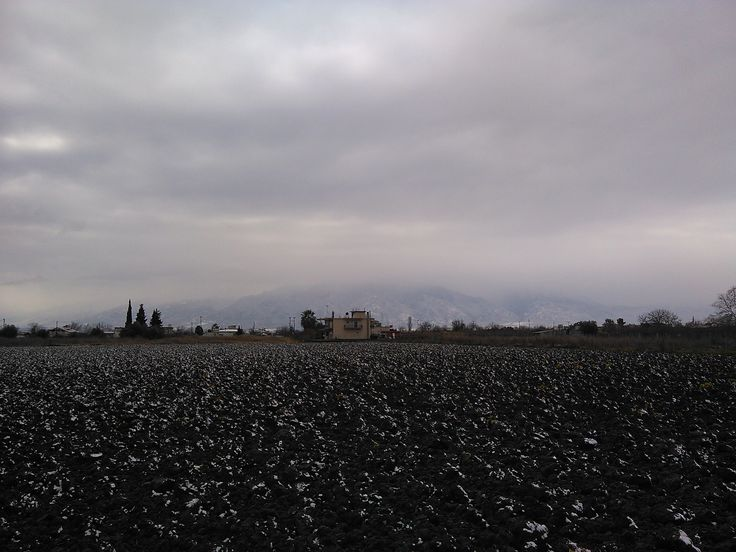 Half covered with mist #MountOlympus #MontOlympe, Pieria, Northern #Greece, Dec. 31, 2015, morning