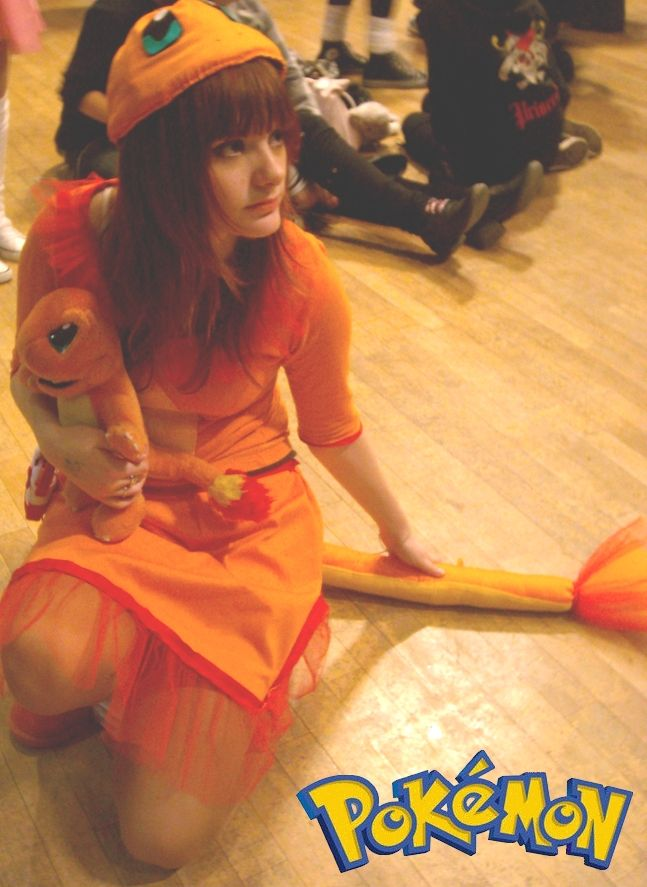 Me as Charmander! ^__^ I really love Charmander. Since I'm 6 years I had dreamed of to do a Charmander Cosplay and finally, I'm 20 now, I've done it! The Cosplay isn't that perfect at all but there...