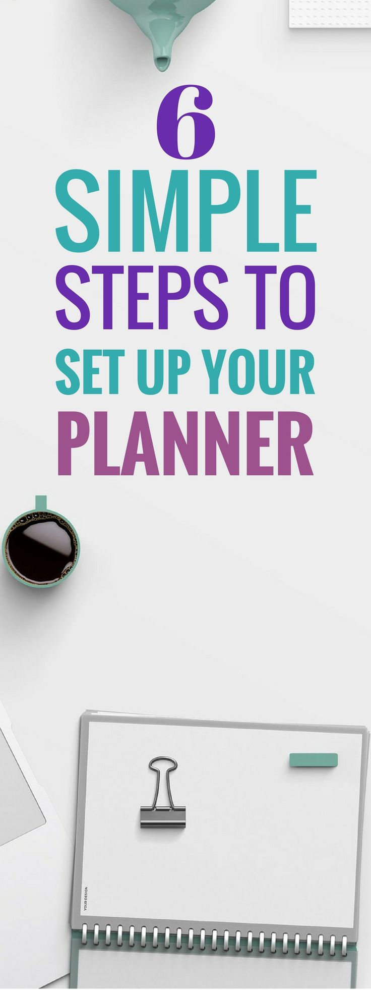 These 5 planner set up ideas are THE BEST! I'm so glad I found these awesome ideas to set up my planner. Now I can be organized for the news year and beyond and I can finally acheive my goals this year! Pinning for sure! #organize #plannercommunity #planner
