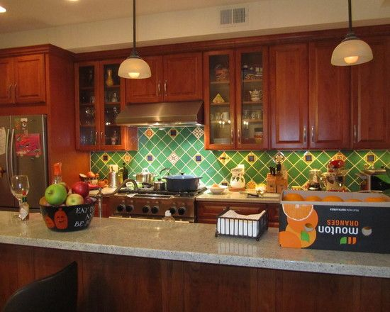 D Kitchen Tiles Design
