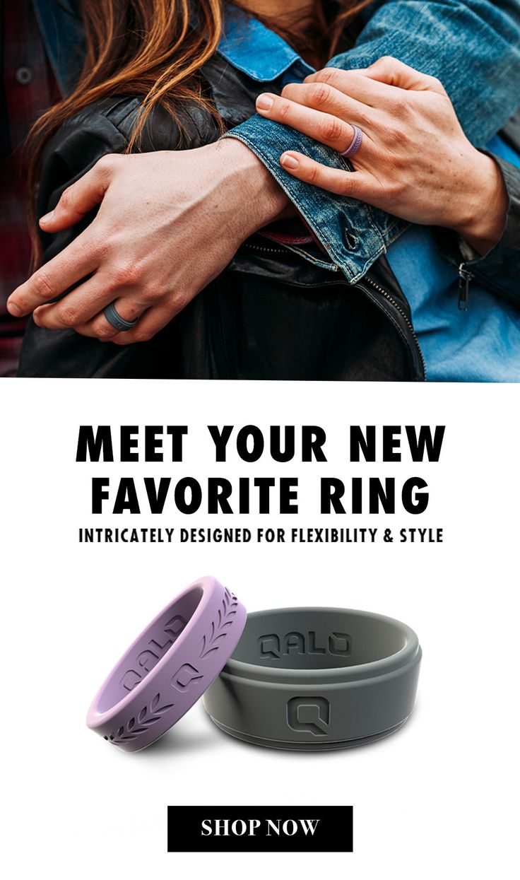 Our Silicone Wedding Rings Are More Than A Simple Rubber Ring They Provide  A Safe Alternative