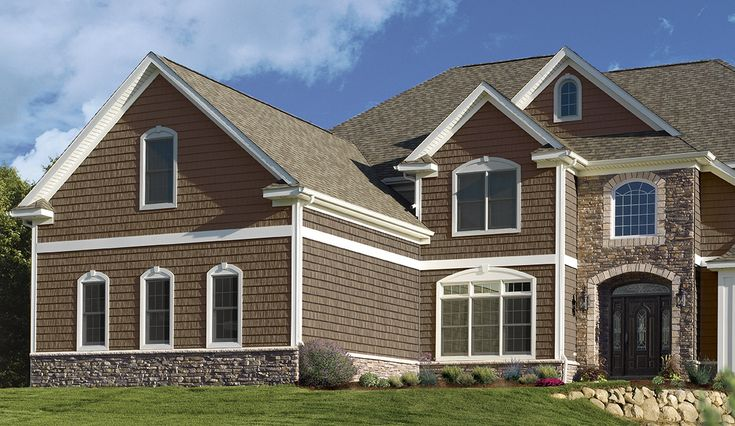 1000 images about house stone siding on pinterest Vinyl siding that looks like stone