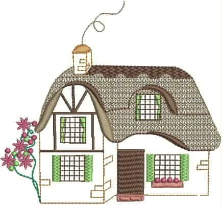 Strawberry Cottage Set