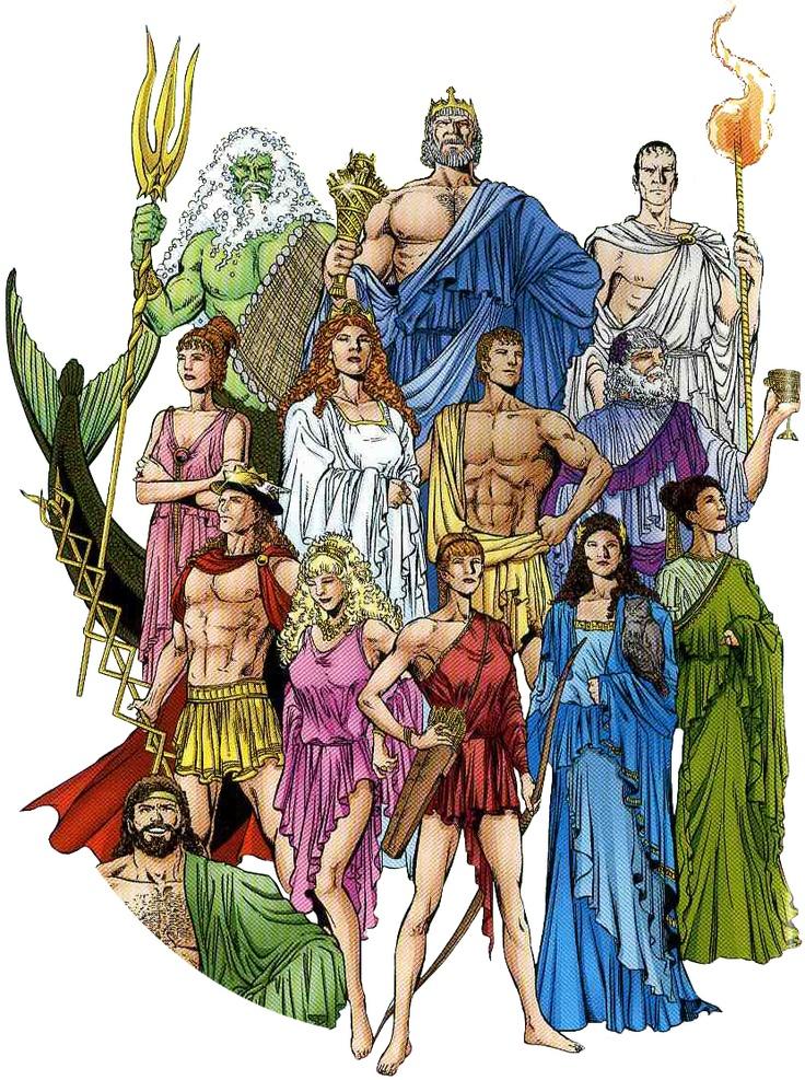 Grekiska gudar