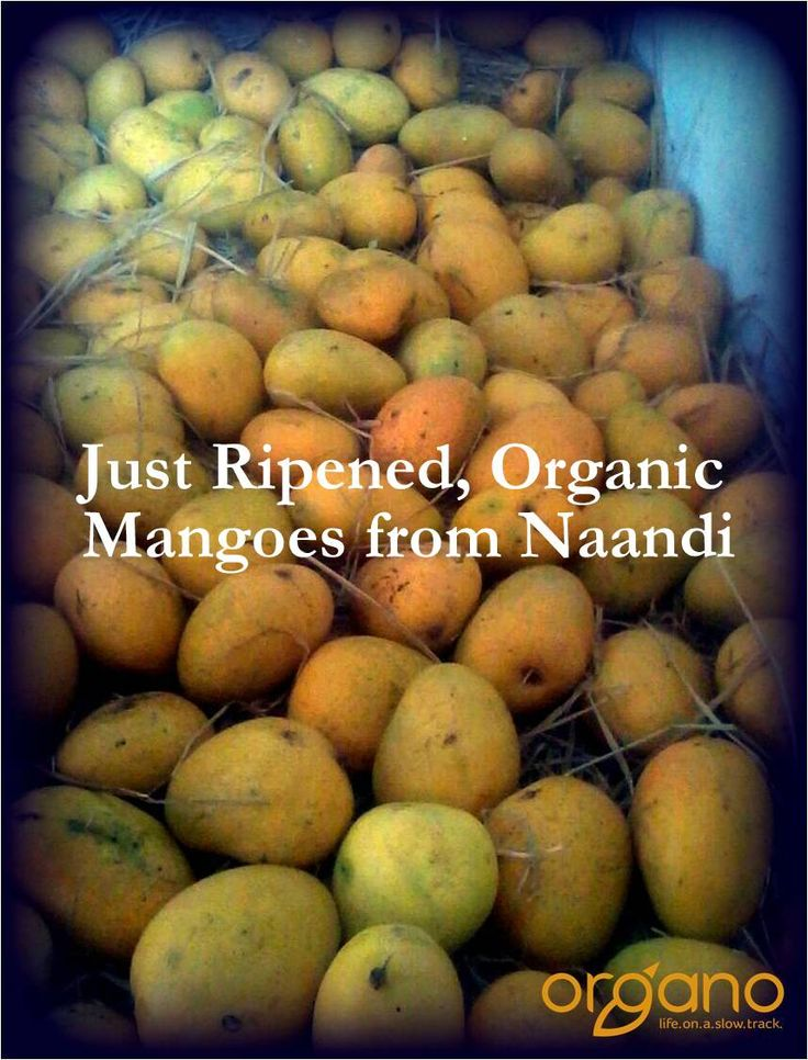 Result of naturally ripening a mango..