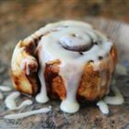 Cinnabon copy-cat, it was delicious! Followed 'X-cinnabonManager' directions from the comment (besides the margarine)