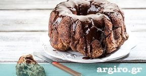 Κέικ τσουρέκι με σοκολάτα και καραμέλα κανέλας από την Αργυρώ Μπαρμπαρίγου | Αυτή η συνταγή θα γεμίσει το σπίτι αρώματα και θα σας κάνει ξανά μικρά παιδιά!