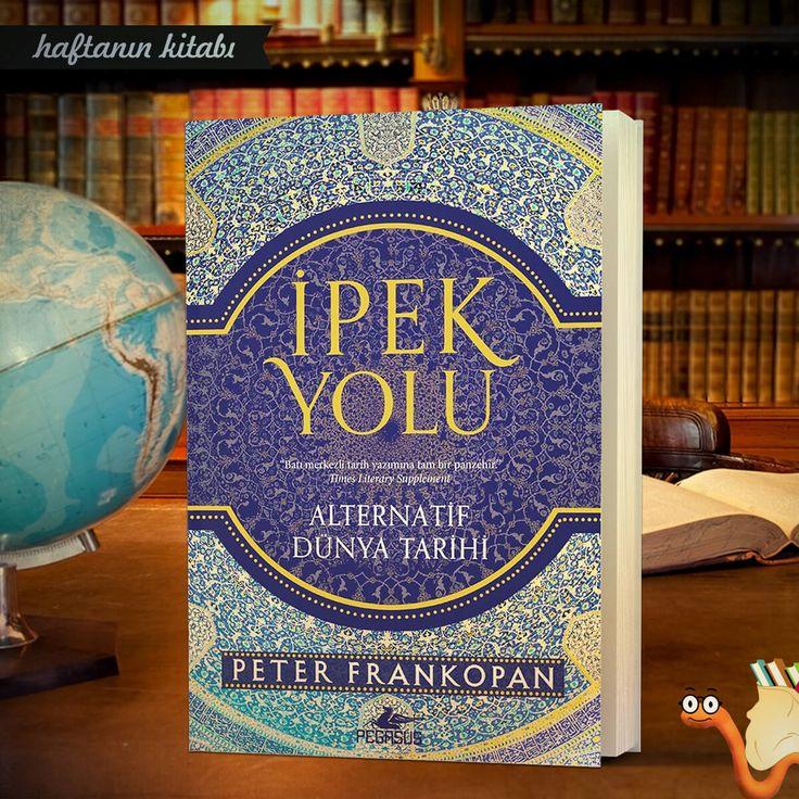 """Kitapyurdu'nda haftanın kitabı: İpek Yolu - Peter Frankopan   """"Antik Pers Diyarı ve Büyük İskender'den günümüze, 2500 yıllık dörtnala bir yolculuk…""""   Çeviri: Mengü Gülmen Sayfa: 840 Yayın Tarihi: Ocak 2018 Satın almak için:"""