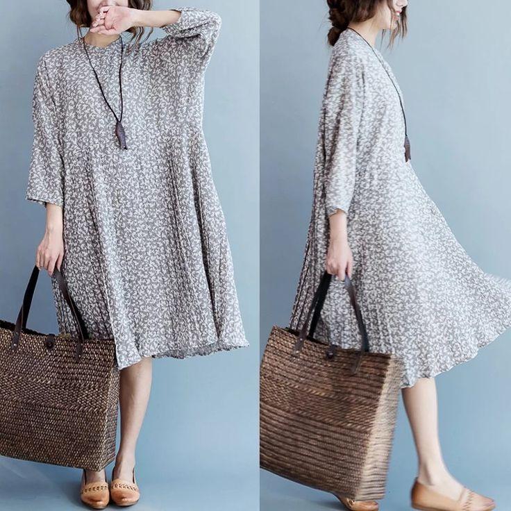 Loose long dress