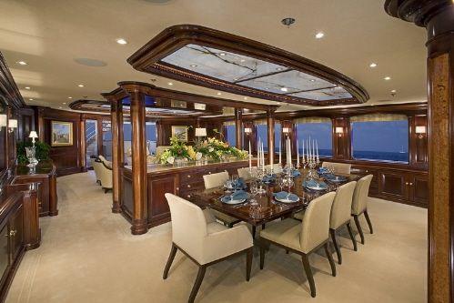 luxury yacht living room interior designs