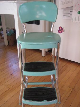 Vintage Turquoise Aqua Cosco Step Stool 80/Best Offer & 87 best Cosco Step Stool images on Pinterest | Kitchen stools ... islam-shia.org